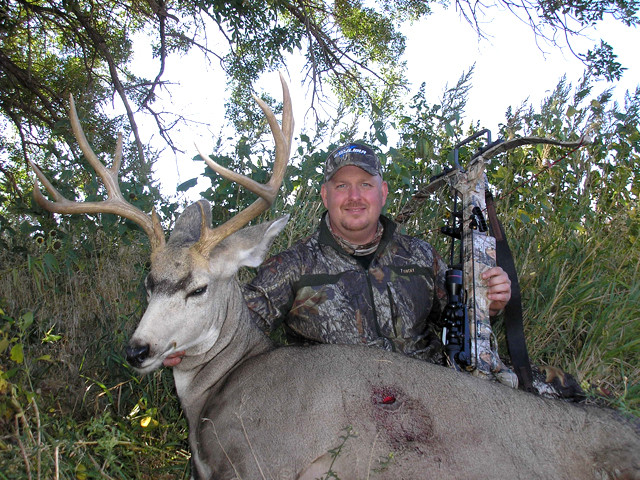Dan Wallace - Mule Deer, Mill Iron TJ Outfitters, Wyoming
