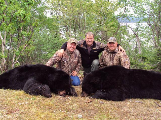 Paul, Todd Wiseman, and Dan Wallace - Newfoundland Adventures